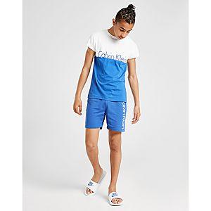 5aeed873d8 ... Calvin Klein Colour Block Logo T-Shirt Junior