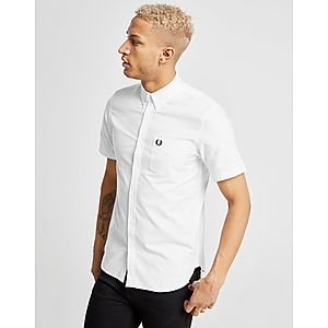 e378109b6 Fred Perry Short Sleeve Oxford Shirt ...
