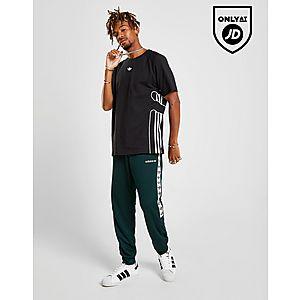 huge discount db902 e417a adidas Originals Tape Poly Track Pants ...