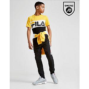 2da1921c682e Fila Mick Colour Block T-Shirt Junior ...