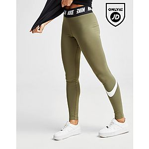 93185ba024bd7 Nike High Waisted Swoosh Leggings Nike High Waisted Swoosh Leggings