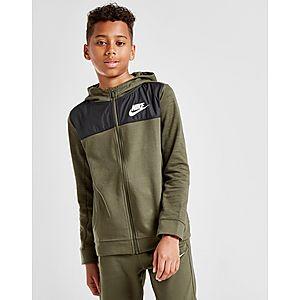7baf165423 Nike Advance Full Zip Hoodie Junior Nike Advance Full Zip Hoodie Junior