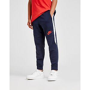 3216785fdfb9e Nike Hybrid Fleece Stripe Joggers Junior ...