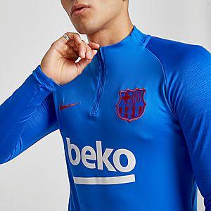 online store e5316 44587 Nike FC Barcelona Strike Drill Track Top
