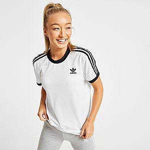 adidas Originals 3 Stripes Mesh California T Shirt