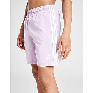 f842ad23d4 adidas Originals Trefoil Logo Swim Shorts Junior ...