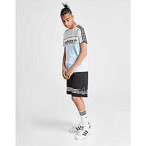 006a2b2ccd61a7 adidas Originals Spirit Fleece Shorts Junior adidas Originals Spirit Fleece  Shorts Junior
