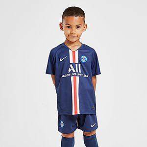 size 40 afac3 f8764 Nike Paris Saint Germain 2019/20 Home Kit Children