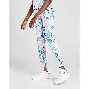 55f484fcac7 adidas Originals Girls' Marble All Over Print Leggings Junior ...