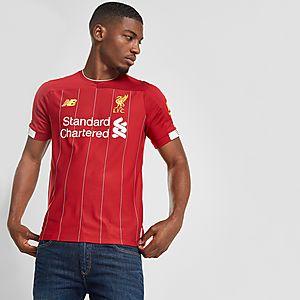 half off 604f4 98cd2 New Balance Liverpool FC 2019 Home Shirt