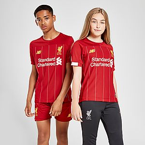 premium selection 38399 7f9c8 New Balance Liverpool FC 2019 Home Shirt Junior