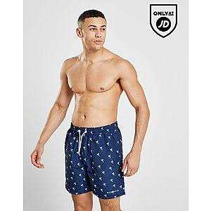 a78fb4edc0 McKenzie Nolan Palm Print Swim Shorts ...