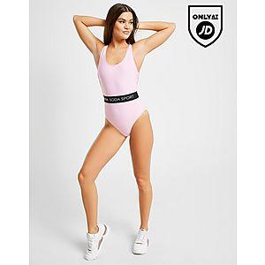 2a5e929438a Pink Soda Sport Elasticated Waist Swimsuit ...