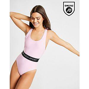 e28e7fa3c29 Pink Soda Sport Elasticated Waist Swimsuit Pink Soda Sport Elasticated  Waist Swimsuit Quick ...