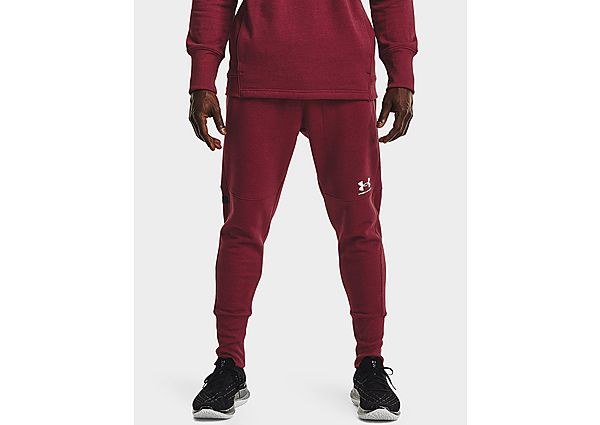 Under Armour Accelerate Off Pitch Joggers - League Red - Mens