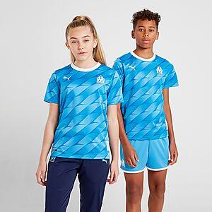 a2cb1ee436 PUMA Olympique Marseille 2019/20 Away Shirt Junior
