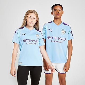 Puma Official Kids Manchester City FC Third Goalkeeper Football Socks 2019-20