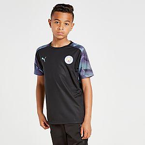 newest a99f3 8a0e2 Puma Manchester City FC Training Shirt Junior