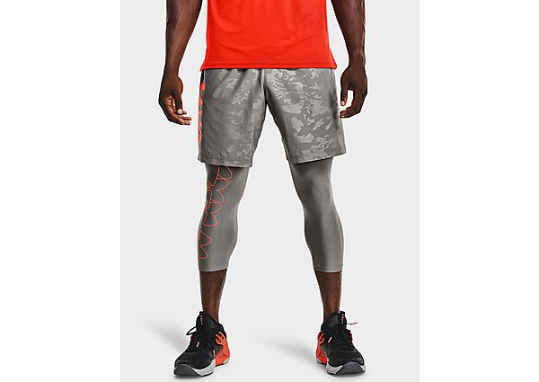 Under Armour Woven Emboss Shorts - Grey