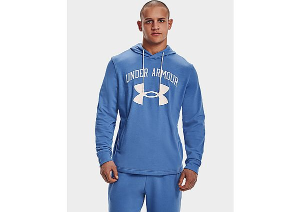 Under Armour Rival Terry Big Logo Hoodie - River