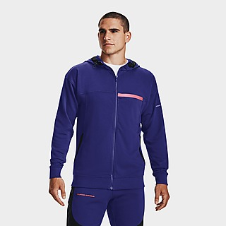 Under Armour RIVAL TERRY AMP Full Zip Hoodie