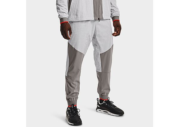 Under Armour RUSH Legacy Woven Trousers - Grey