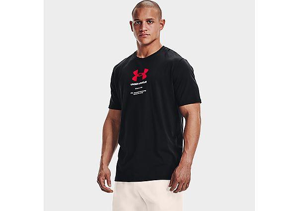 Under Armour Engineered Symbol Short Sleeve - Black - Mens
