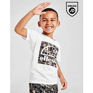 a35a333e824 Ellesse Vios T-Shirt/Shorts Set Children ...