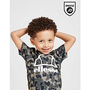 66edd369b7a ... Ellesse Abica T-Shirt/Shorts Set Infant