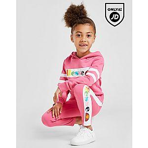 f9723a84b0db Ellesse Girls' Aglio Hooded Suit Children ...