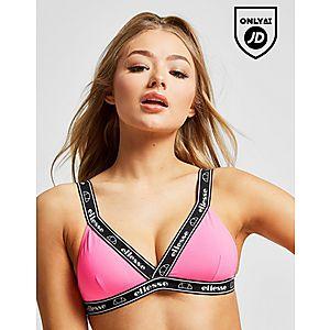 48b7b4e1f8 Ellesse Tape Bikini Top Ellesse Tape Bikini Top