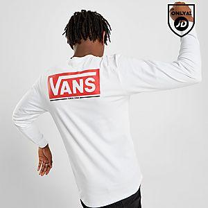 e6d1f8a6 Vans Long Sleeve Back Logo Carter T-Shirt