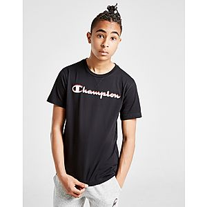 45541b51d0c1 Champion Logo T-Shirt Junior ...