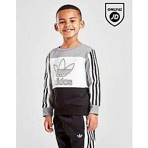 c3a2bd268dc adidas Originals Spirit Crew Tracksuit Children adidas Originals Spirit  Crew Tracksuit Children