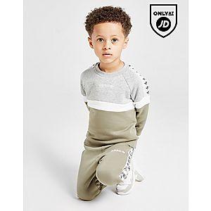 de6cb76248e adidas Originals Tape Colour Block Crew Tracksuit Infant ...