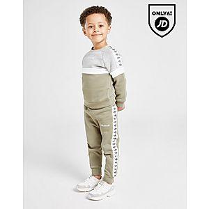 1b1d0c5672 ... adidas Originals Tape Colour Block Crew Tracksuit Infant