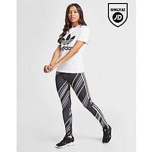 64027c004500d adidas Originals All Over Print Trefoil Leggings ...
