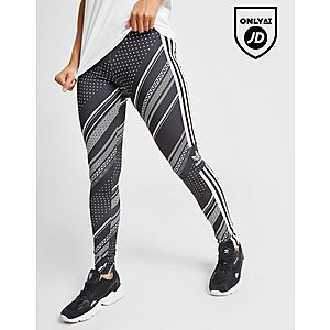 e951a08eff518a adidas Originals All Over Print Trefoil Leggings adidas Originals All Over  Print Trefoil Leggings