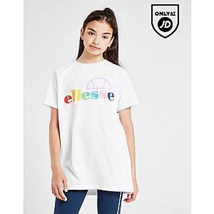80a45b6b Ellesse Girls' Lavana Boyfriend T-Shirt Junior ...