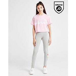 07b48e7107a635 ... Ellesse Girls' Finaro Crop Logo T-Shirt Junior
