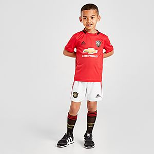 official photos d71bd 81208 adidas Manchester United 19/20 Home Kit Children