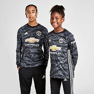 new style 52404 a8a86 adidas Manchester Utd 19/20 Goalkeeper Away Shirt Jnr