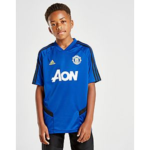d981ceb5 adidas Manchester United Training Shirt Junior adidas Manchester United  Training Shirt Junior