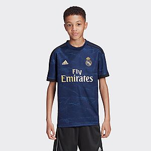 new concept f1ce5 f4492 adidas Real Madrid 2019/20 Away Shirt Junior PRE ORDER