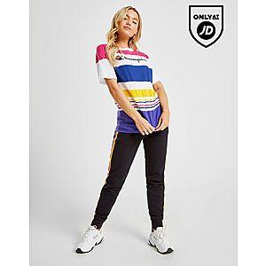 45d1f6a4 ... Champion Logo Stripe T-Shirt Quick ...