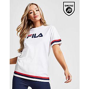 1bf18a5813c73 Fila Stripe Boyfriend T-Shirt ...