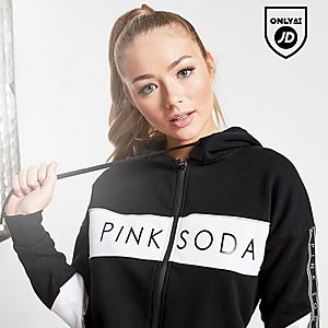 356a277d2ad Pink Soda Sport Colour Block Full Zip Hoodie