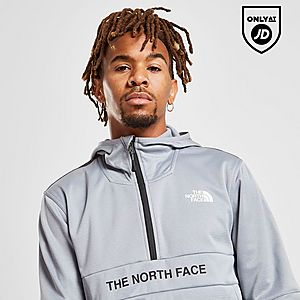 21ef42485 The North Face Train N Logo 1/4 Zip Hoodie