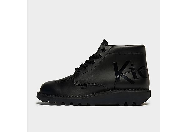 Kickers Kick Hi Luxe - Black - Mens