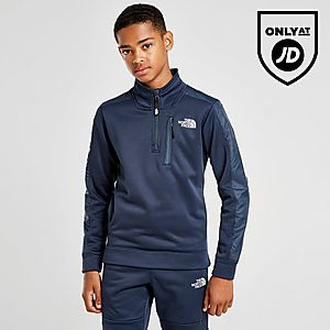 4f7d788b3 The North Face Mittelegi 1/4 Zip Top Junior